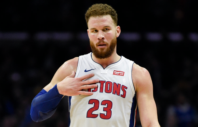 Pistons To Make Do Without Blake Griffin