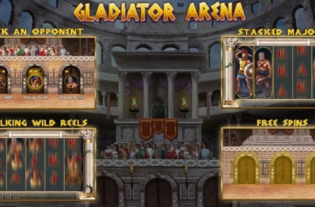 Booming Games Unveil New Gladiator Arena Slot