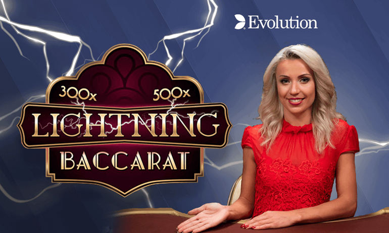 Evolution Gaming Unveils Lightning Baccarat