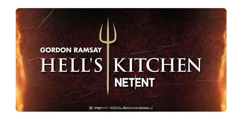 NetEnt Secures Rights To Hell's Kitchen Slot