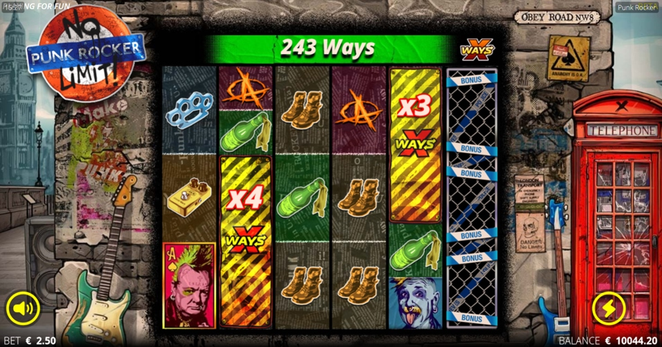 Nolimit CityUnveils Punk Rocker xWays Slot
