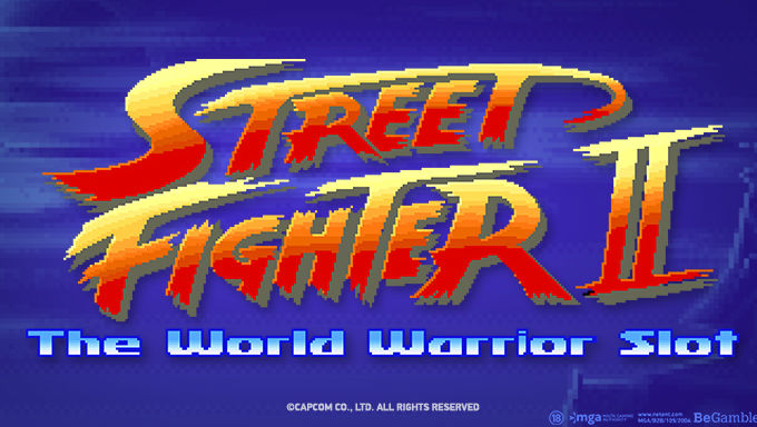 NetEnt Streetfighter II Slot In The Works