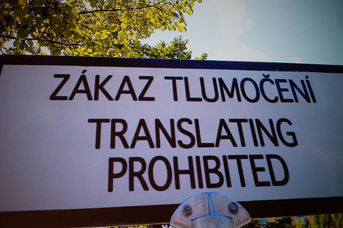 Translating Prohibited