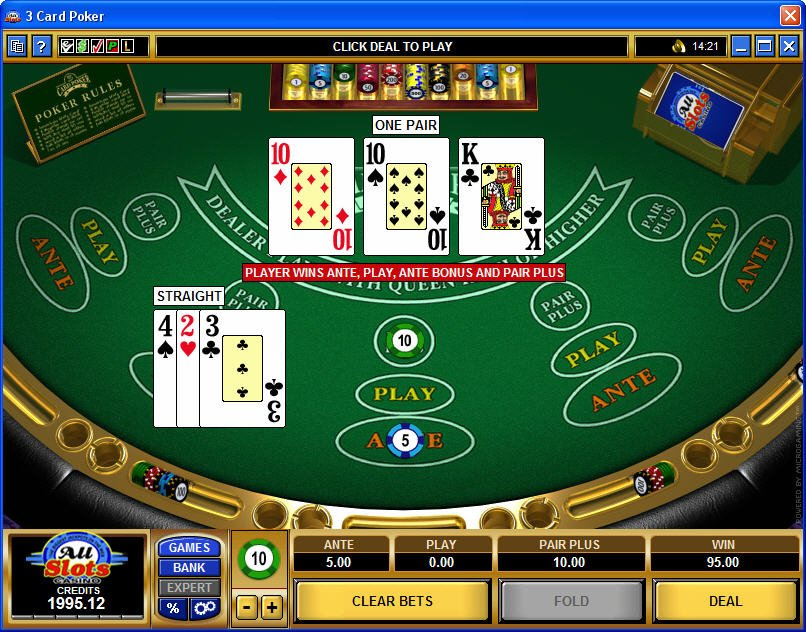 How to Play 3-Card Poker Online | Gaming Post CA