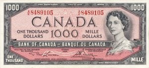 Canadian Dollars Welcome