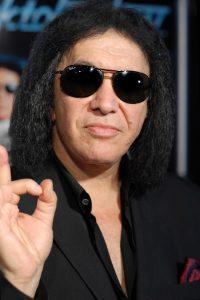 Gene Simmons sans makeup