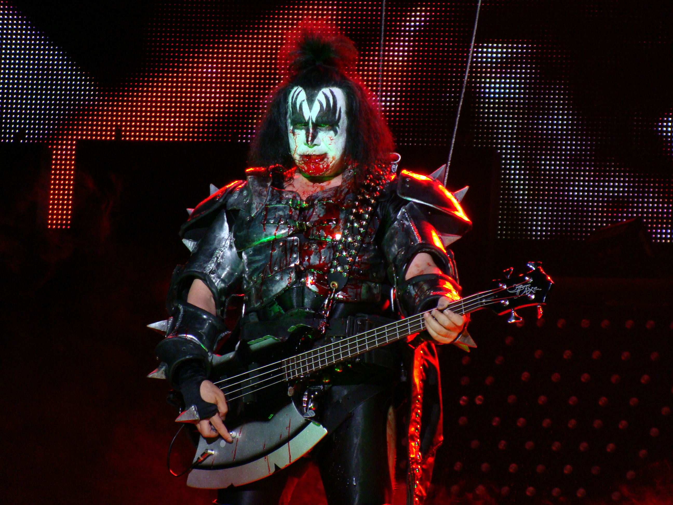 Gene Simmons Onstage as KISS