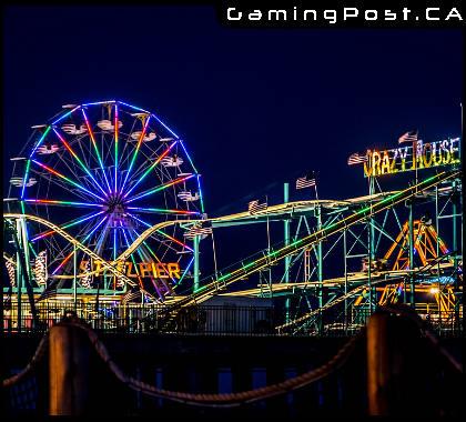 Steel Pier at Atlantic City New Jersey