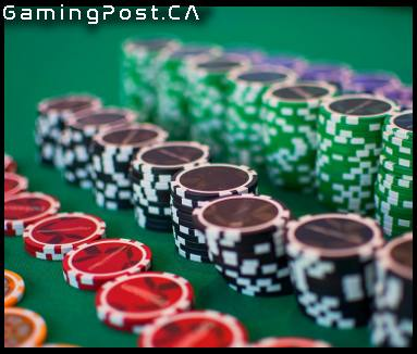 rows of casino chips