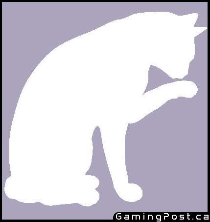 Facebook cat silhouette