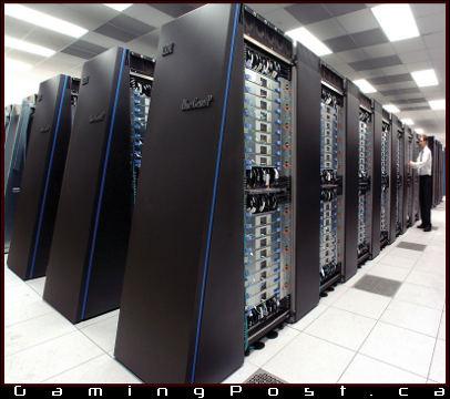 IBM Super Computer in the lab
