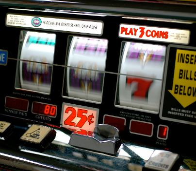 Spinning Slot Machine