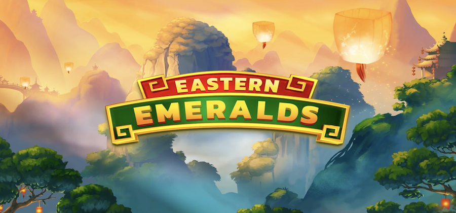 Beautiful, vivid imagery in the new slot game, Eastern Emeralds