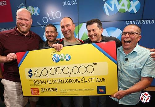Friends win $60m