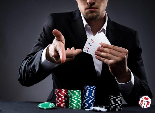 Suave poker player