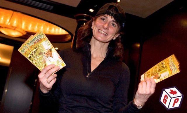 Rachel Lapierre donates winnings