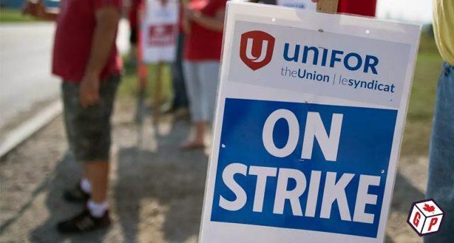 Unifor & GCC strike