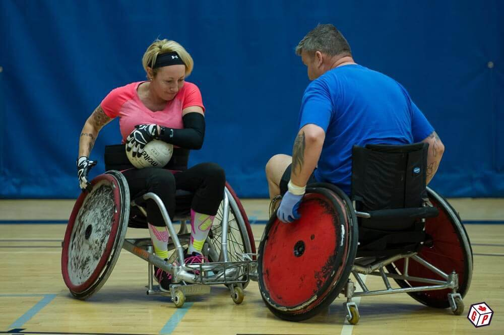 Wheelchair Basketball played at the Invictus Games