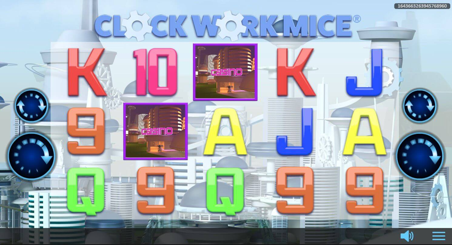 Clockwork Mice New Video Slot Game