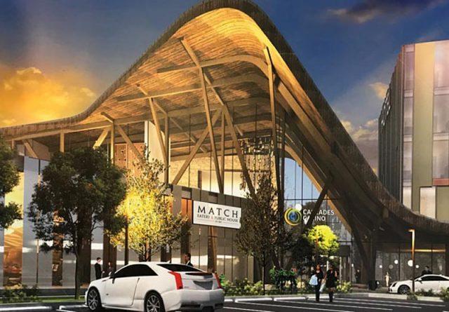 Proposed design for new Cascades Casino in Delta