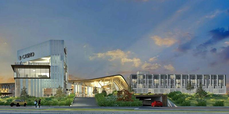 Proposed design of the Cascades Casino Delta