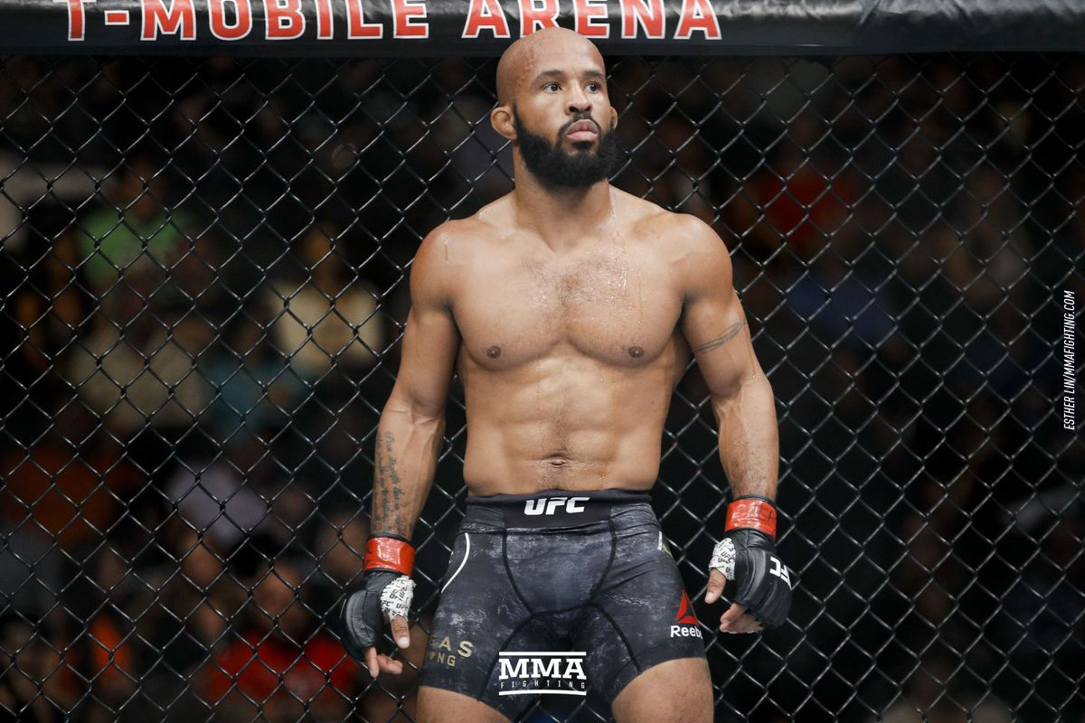 UFC flyweight champion, Demetrious Johnson