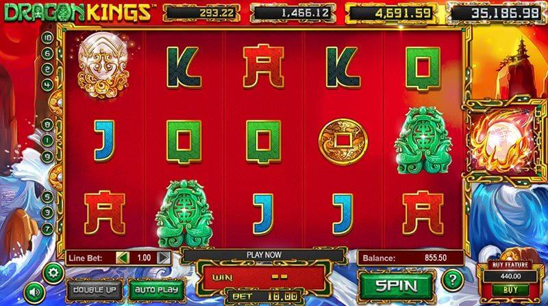 Dragon Kings slot game