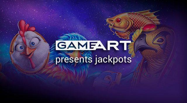 GameArt progressive slots