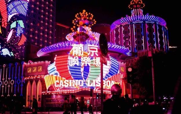 The popular Casino Lisboa, owned by Ho