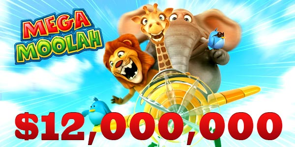 Mega Moolah jackpot more than $12m