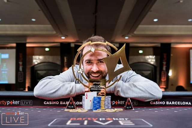 Pascal Lefrancois wins partypoker LIVE MILLIONS Grand Final in Barcelona