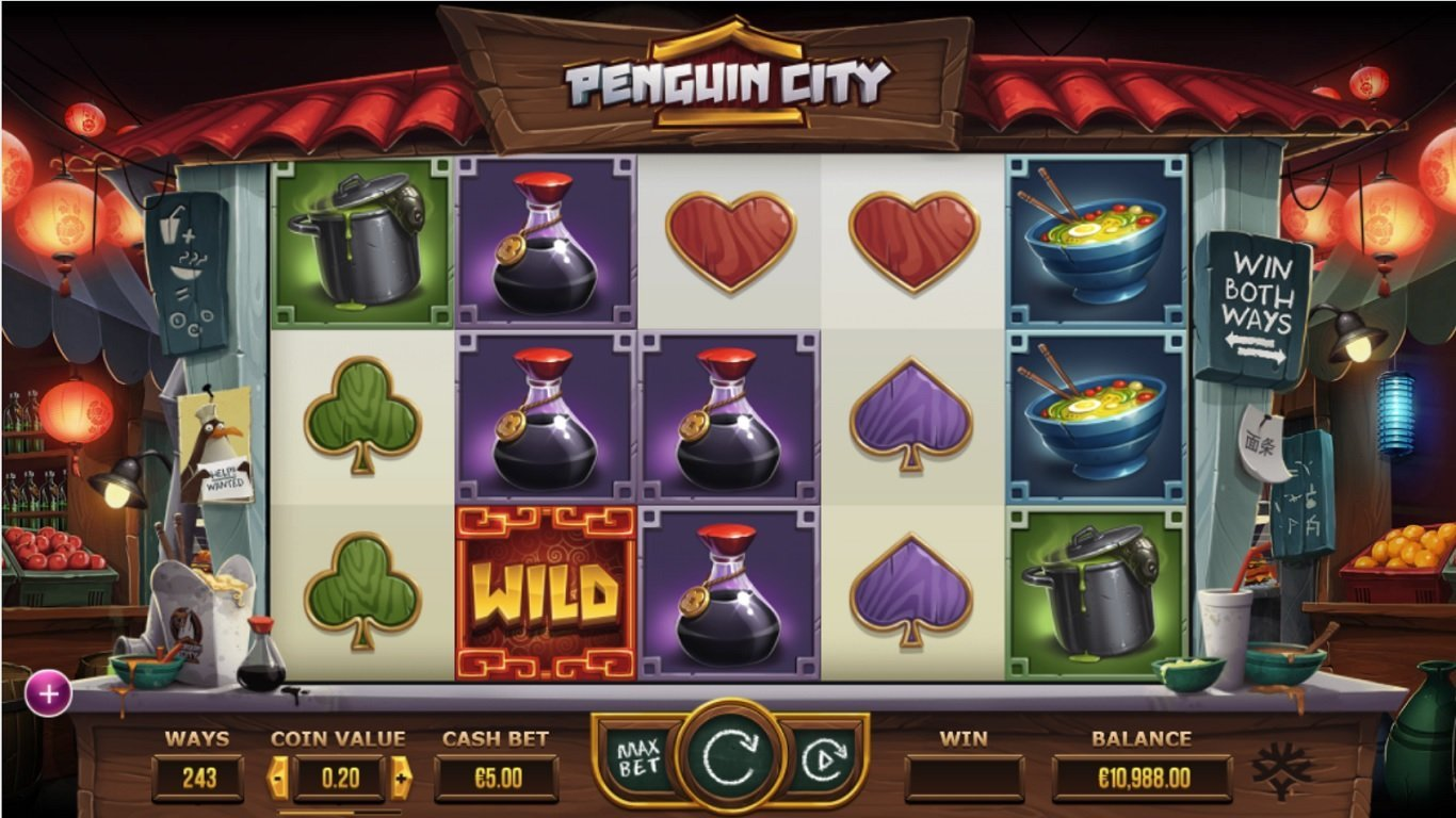 Penguin City screenshot