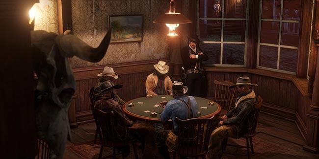 RDR2 Texas Holdem scene