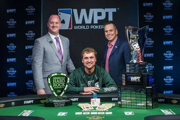 Ryan Riess Wins Big in Seminole Hard Rock Open