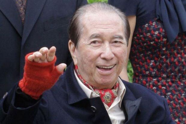 Hong Kong-based gambling mogul Stanley Ho