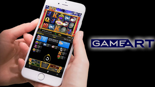 GameArt slots available on mobile