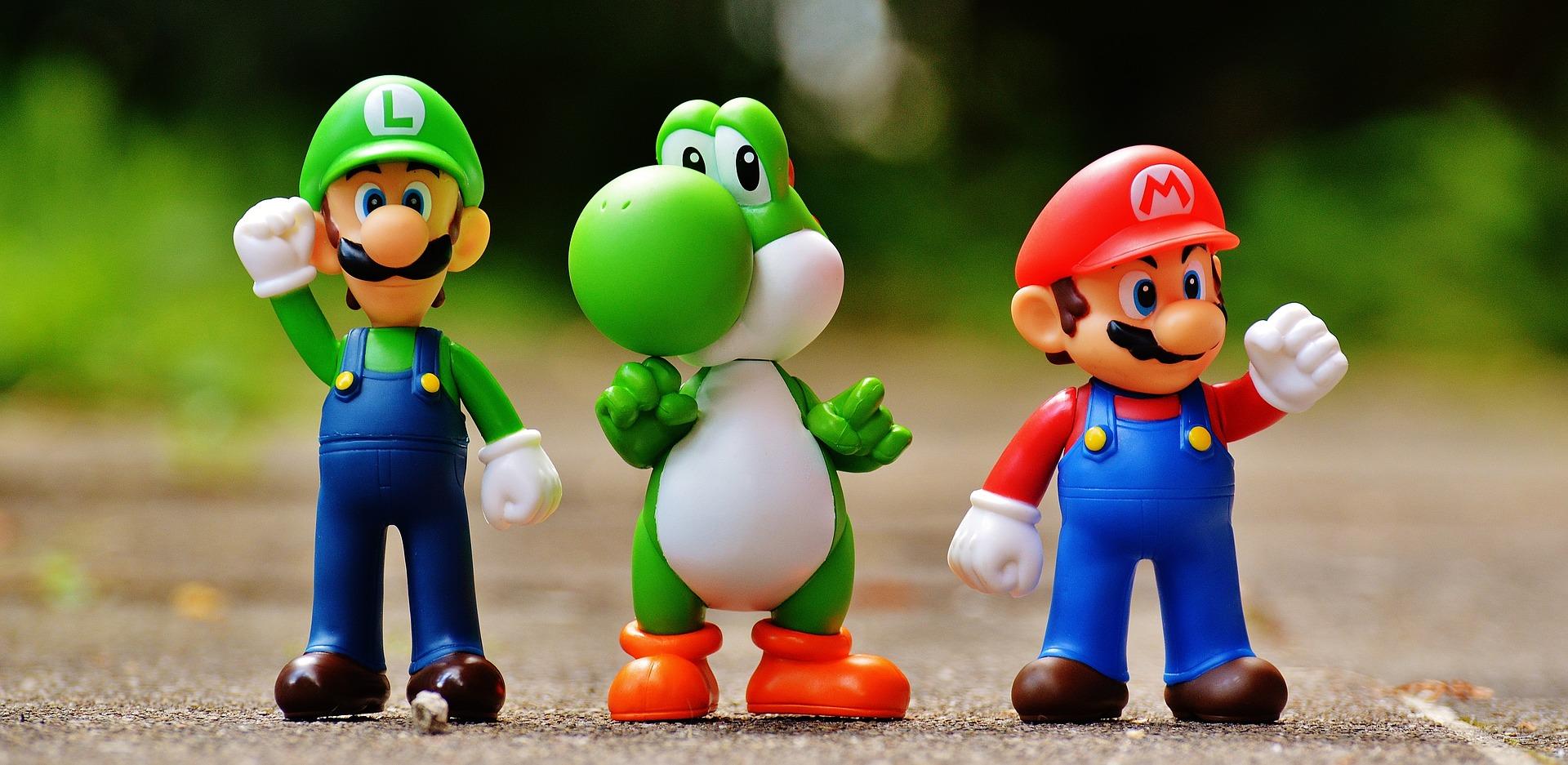 Mario, Luigi and friends