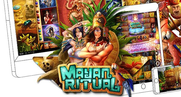 One of the three new releases, Mayan Ritual by Wazdan