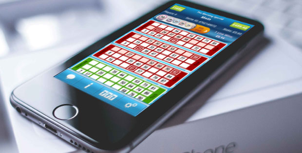 Playing bingo on your mobile
