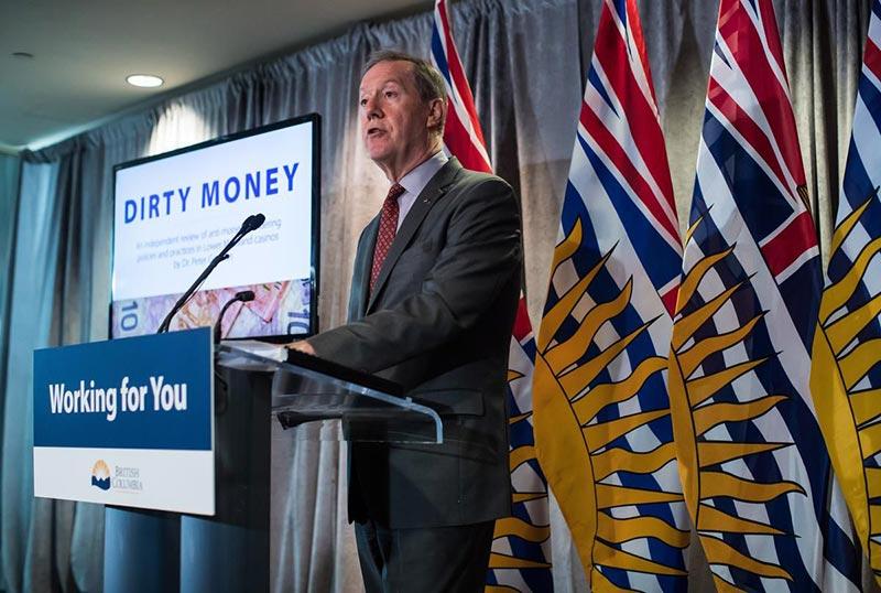 Peter German's Dirty Money Report