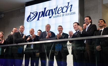 Playtech pushing through H1 with high profits