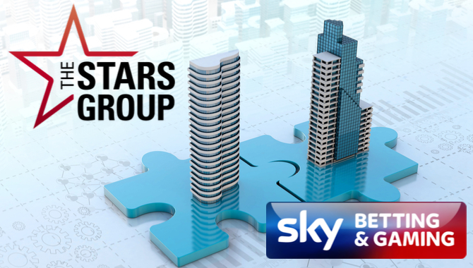 The Stars Group amalgamation with Sky