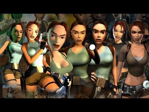 The evolution of the Tomb Raider game