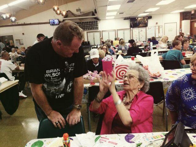 Bingo Fan Turns 107 in Style