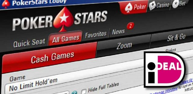 PokerStars have removed iDeal from the Dutch market