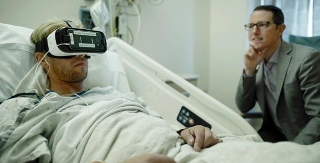 Calgary Hospital Pioneers VR Wound Care