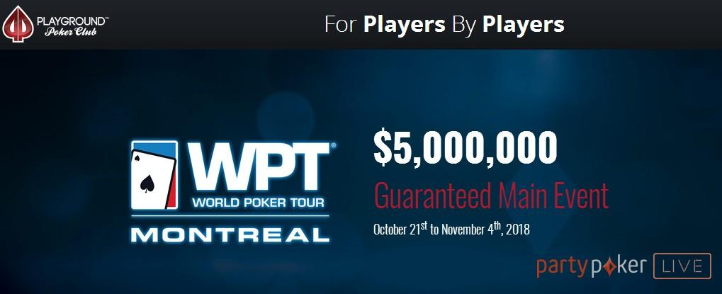 Massive prizes available in WPT 2018