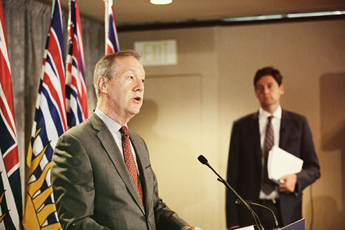 Peter German presenting British Columbia's money laundering issue