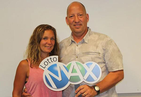 Laura and Edwin Vanderkley won $1m
