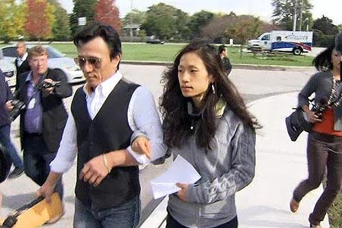 Jun-Chul Chung and daughter, Kathleen Chung